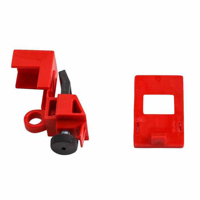Clamp on Circuit Breaker Lockout Clamp-on breaker lockouts, keep circuit breaker switches secure in place, are versatile and easy to install SKU#: 103581 UPC: 754473175658