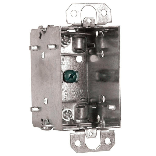 "Device Box 2X3X2.5"" - Device Boxes are used for house wiring devices such as switches or receptacles. SKU#: 1104LUBAR UPC: 626463020616"