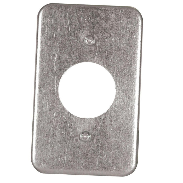 Utility CVR 2.5X4IN 1.4INCH - Utility Covers are used to close convenience outlets, switch boxes or small junction boxes.