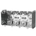 "Device Box 8X3X2.5"" Four Gang - Multi-Gang Device Boxes are used for outlets, switches, ceiling fixtures, and small junction boxes. They keep wires dry and are popular for surface mounted applications. SKU: HUB2104LLEU4BAR UPC: 626463021088"