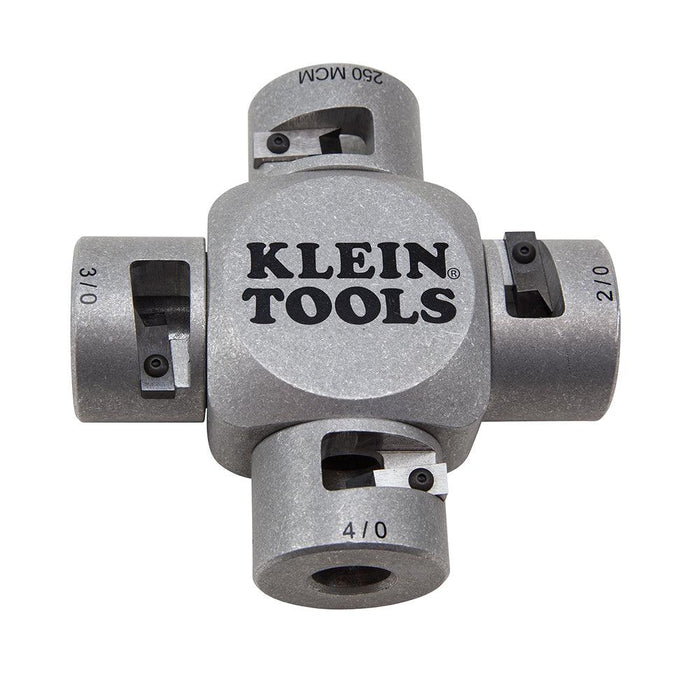 Put down the utility knife for a safer, easier and more precise cutting tool. Klein Tools' Large Cable Stripper safely removes the insulation on MTW, THHN, and THWN-2 cable without nicking the wire. SKU: KLE21051 UPC: 092644741517