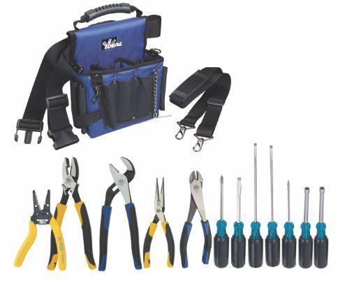 The Ultimate IDEAL Tool Kit for the serious homeowner or for electricians.  Super value kit contains 14 of the most popular tools used by Professional Electricians plus a bonus #2 Robertson Screwdriver.  The kit also contains a convenient Nylon Tool Bag UPC: 624141035150   SKU: IDE30730CDN