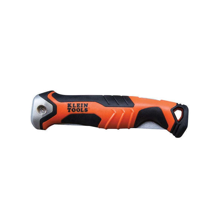 Klein Tools Folding Jab Saw is durable, it's carbon steel blade is as sturdy as fixed blade jab saws. This Jab saw was specifically designed to cut through drywall, wallboard, plywood, plastic, and other construction materials. SKU: KLE31737   UPC: 092644317378