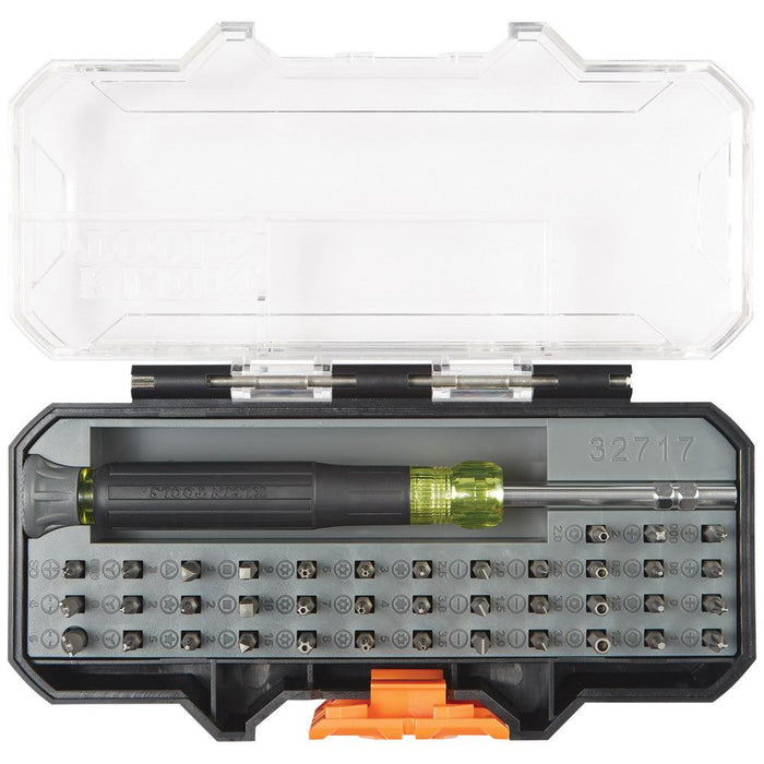 ALL-IN-1 PRECISION SCREWDRIVER SET WITH CASE The complete set for working on electronics SKU: KLE32717   UPC: 092644327179