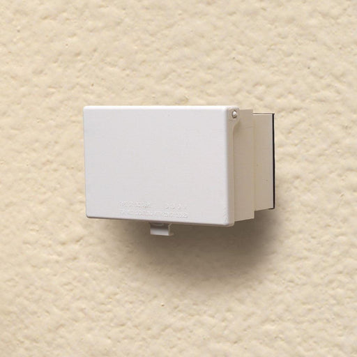 Cover and protect your receptacles and plugs in style with Low profile IN-AND-OUT covers that will keep your homes design looking elegant while giving you access to a reliable outdoor power source. SKU#: ARL60HW  UPC: 018997006844