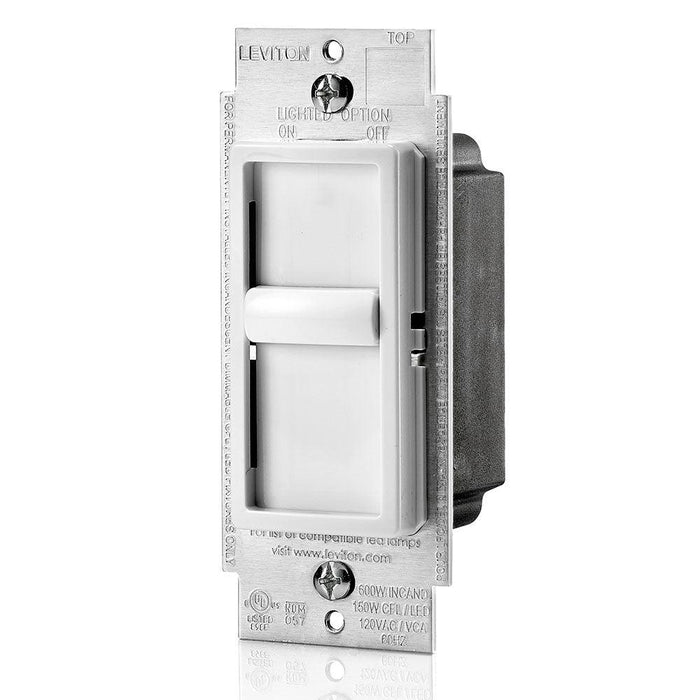 Leviton Pack of 2 Slide-To-Off universal Dimmer, Model 06672-756