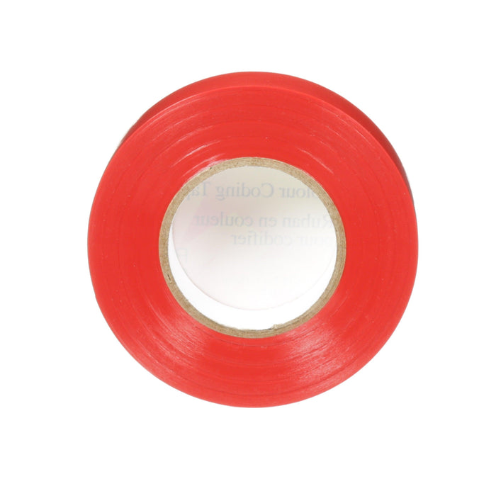 Identify leads, splices and terminations with Colourflex Tape. Its abrasion and weather resistant, perfect for mechanical and electrical insulation applications. This tape is flexible and durable allowing it to wrap smoothly and maintain a tight hold over a wide range of temperatures. SKU: MMMCOLOURFLEXRED  UPC: 051141044750