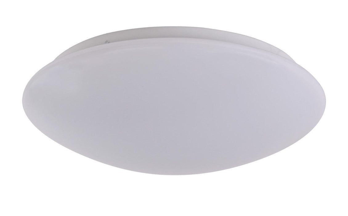 Sylvania LED 25W, 2700K, 14 inch Round Surface Mount Luminaire is environmentally preferable LED alternatives to traditional CFL or Incandescent luminaires. It is best in place of traditional luminaires, or as new installations. This can be used in residential, educational, property management or hospitality applications. They have soft, uniform illumination and a contemporary design for universal applications.  SKU: SYESURFACER1A025120$  UPC: 046135742637