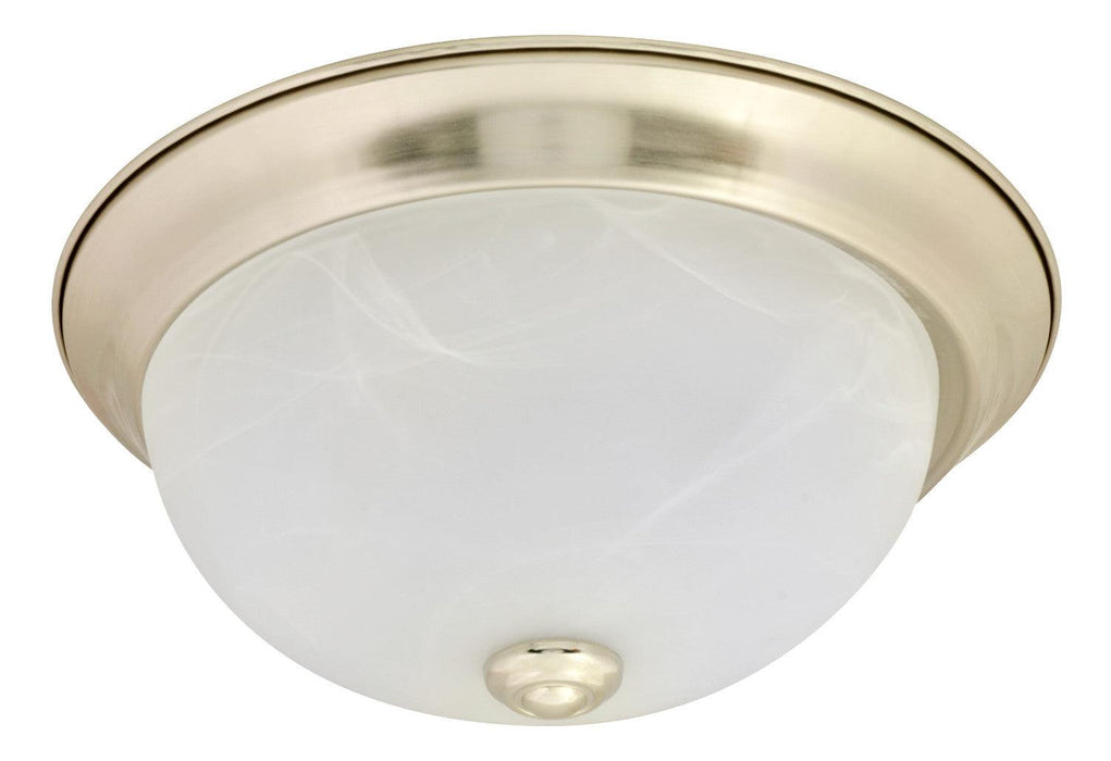 Sylvania Flush Dome is environmentally preferable LED alternative to traditional CFL or Incandescent luminaires, offering energy savings as well. Ideal in place of traditional luminaires, or as new installations, the Flush Mount Luminaires can be used in residential, educational, property management or hospitality applications. This luminaire provides soft, even illumination through a frosted glass lens. SKU: SYELEDFLUSHDOME11$12  UPC: 046135743023