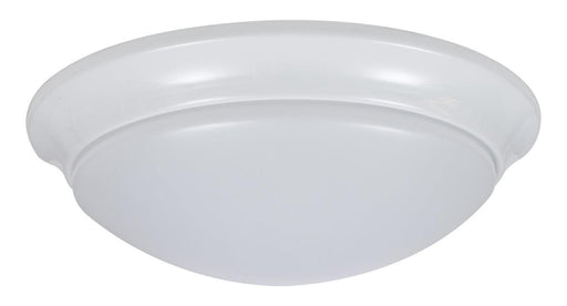 "The Sylvania 11"" LED Flush Mount Cloud with Trim is a perfect fit for residential, hospitality, and commercial spaces. It has an application for illuminating hallways, offices, bedrooms, living rooms, and other general lighting. This Energy Star qualified fixture provide 1200 lumens of light. SKU: SYELEDFLUSHRNDTRM$12  UPC: 046135743085"