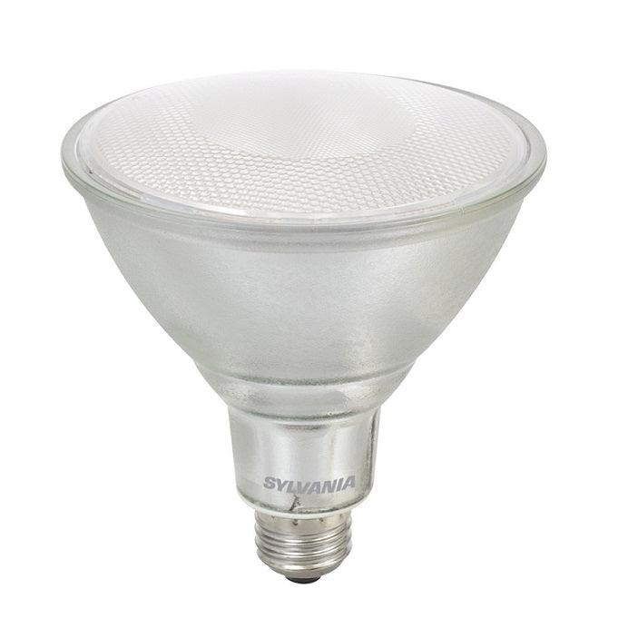 This Energy Star qualified dimmable PAR38 14W lamp provides energy savings and produces a Bright White light (4000K). SKU: SYELED14PAR38LAMP840 UPC: 046135749469