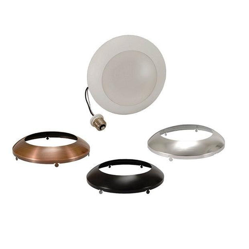 Sylvania Ultra Light Disk 13W, 3000K is an LED downlight kit that creates high performing white light and is optimized for new construction and retrofit applications. There are multiple installation options for both recessed and surface mount applications. SKU: SYELEDLD900930FL120  UPC: 046135750441