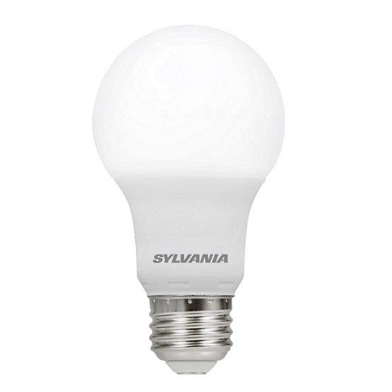 Sylvania Ultra LED A19 omnidirectional lamp offers years of service and reduces energy and maintenance costs. This lamp is environmentally preferred products. This is RoHS compliant and contains no mercury, lead or other hazardous materials. SKU: SYELED9A19DIM827RP4  UPC: 046135780363