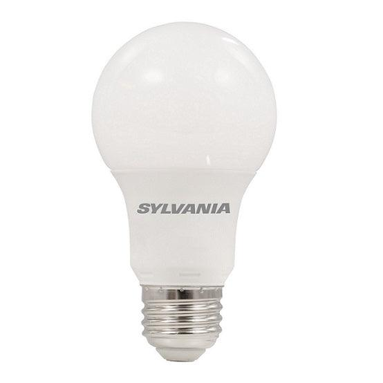 Sylvania Ultra LED A19 omnidirectional 9W, 5000K lamp offers years of service and reduces energy and maintenance costs. This lamp is environmentally preferred products. This is RoHS compliant and contains no mercury, lead or other hazardous materials. SKU: SYELED9A19DIMO850UB  UPC: 046135780660