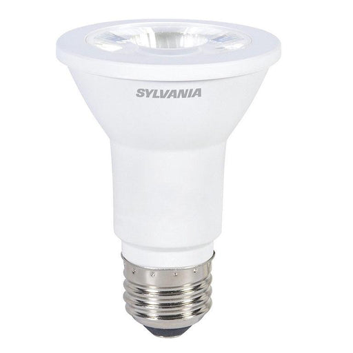 Contractor Series LED PAR20 lamp is rated upto 11,000 hours that means years of service. It has reduced energy and maintenance costs. With its good color definition, it can be used for many applications like general lighting, recessed downlights, track lighting, and wall washer. It doesn't cause fading and discoloration of fabric or artwork. SKU: SYELED6PAR20830FL45$  UPC: 046135792793