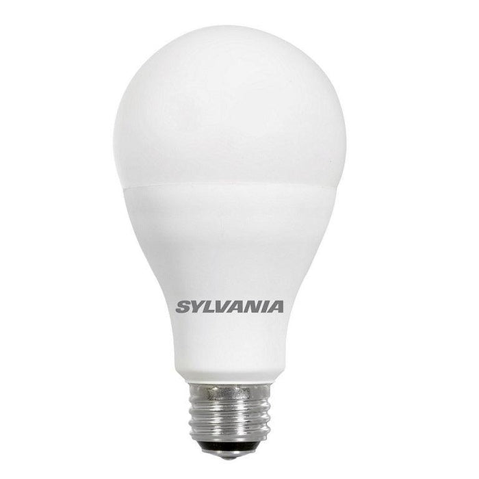 Save energy with Sylvania Ultra LED A21 lamp that produces a light at 3000K offers years of service, and reduces maintenance costs. This lamp is environmentally preferred products. It is RoHS compliant and contains no mercury, lead or other hazardous materials. SKU: SYELED23A21DIMO830UB  UPC: 046135797347