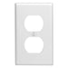 Leviton 1 Gang Duplex Receptacle Wall Plates feature rounded edges with a clean white smooth finish for a classic look. These wall plates easily blend in with any decor, are easy to install and economically priced. UPC 078477086933