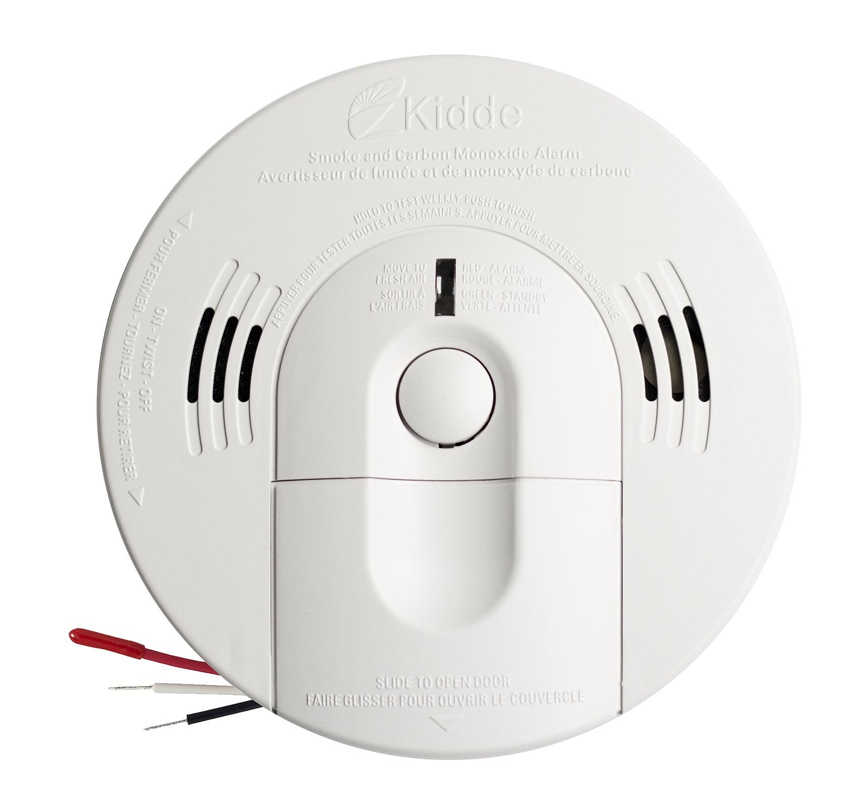 Kidde combination Smoke & Carbon Monoxide alarms offer protection from two deadly threats in one. These combination devices use breakthrough technology to offer a fast response to real fires, including smoldering and fast-flaming, as well as protect you from carbon monoxide and dramatically reduce the chance of nuisance alarms. SKU: KN-COSM-IBACA, UPC: 04787110119