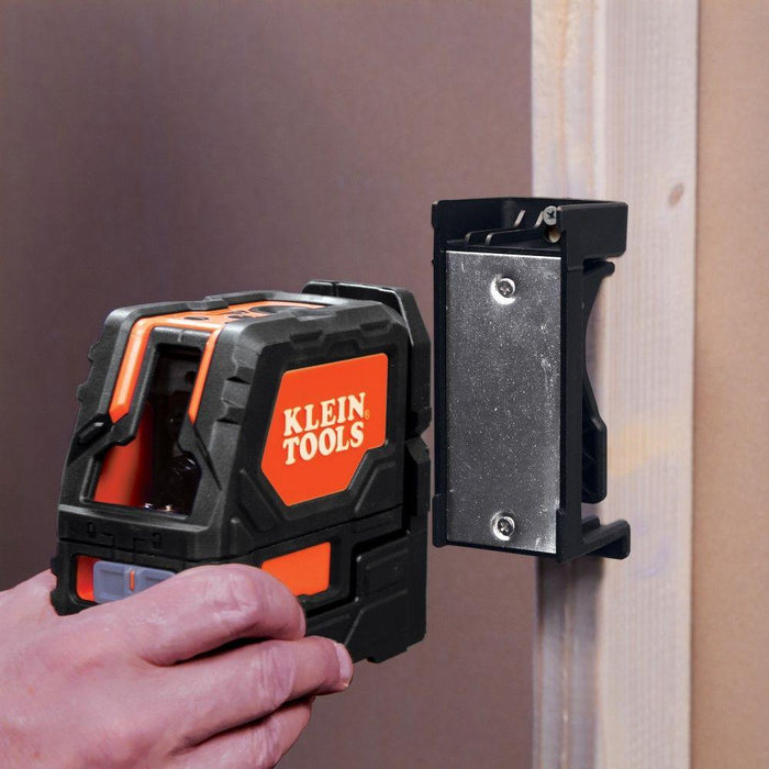 Klein Tools Self-Leveling Cross-Line Laser Level with Plumb Spot, Model 93LCLS