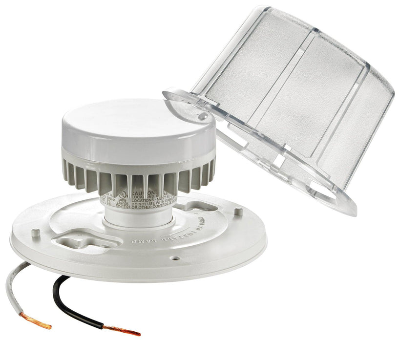 LED Ceiling Lampholders are the ideal lighting source for closets, workrooms, basements, storage areas, utility rooms, attics and other closed-in spaces. These lampholders come with a GU24 base, that supports new CFL and LED lamps. Designed for an easy installation, this utility lampholder features pigtails leads.