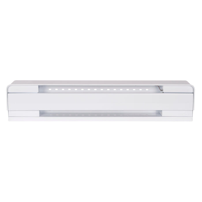 Stelpro Brava series electric baseboards are the leading baseboard heaters on the market. Perfect for commercial spaces, offices, the bedroom, living room, basement and all other rooms in your home.  SKU: STEB0502W UPC: 626296184561