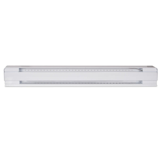 The B1002W Brava Electric baseboard heater is the leading baseboard heater on the market. Ideal for the bedroom, living room, basement and all other rooms including the attic. UPC: 626296185193 SKU: STEB1002W