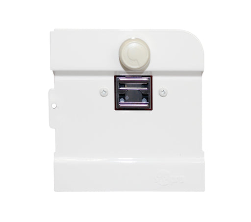The B1T1W Built-in Thermostat for Stelpro Brava Series Baseboard heaters can be installed at either end of the heater. UPC: 626296185018 SKU: STEB1T1W