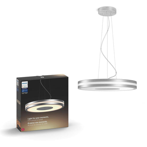 Featuring a unique aluminum design, the Being ceiling light installs flat against your ceiling to provide a seamless appearance. SKU: PHI4076130U7  UPC: 046677801359