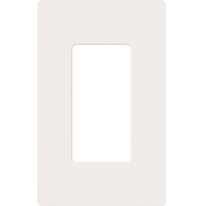 This beautiful gloss finished Claro wallplate is perfectly designed to compliment your fan speed controls, lighting dimmers, switches, receptacles, cables and phone jacks. SKU#: CW-1-WH UPC: 027557692052