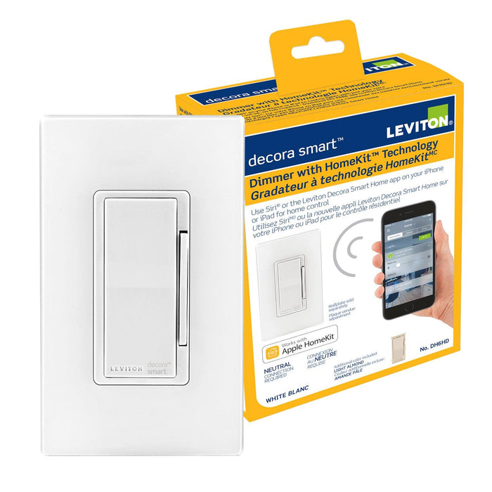 The Apple HomeKit technology provides an easy and secure way to control your lighting. SKU#: DH6HD701 UPC: 078477806814