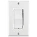 Leviton's Decora Slide Dimmer is a unique, easy to operate lighting switch. It's smooth slider enables you to increase or decrease the brightness in a room with the touch of a finger, the on/off rocker switch lets you easily retain your dimming settings. SKU#: DSL06744 UPC: 078477709559
