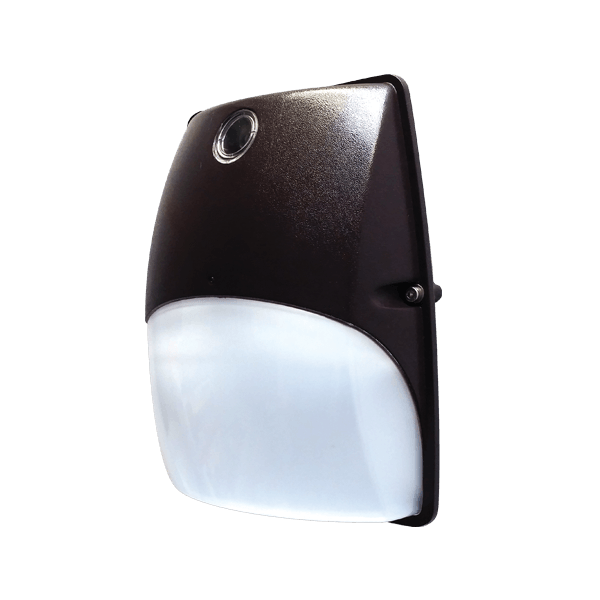 RAB Design DWL- LED Series Wall Lights have a slim profile and rounded frosted lens that provides optimal light distribution. SKU#: RABDWL1LED18, RABDWL2LED30
