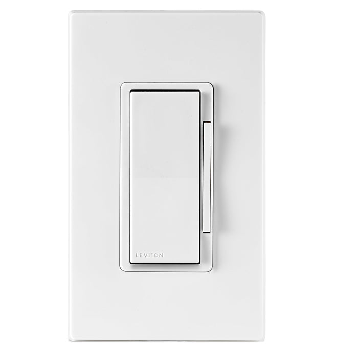 The Decora Smart Dimmer with Z-Wave Plus Technology gives you the convenience you've always wanted, allowing you to control your lights in comfort. With Z Wave technology you can schedule or dim your lights from anywhere using a smartphone (Z Wave controller). SKU#: DZ6HD751 UPC: 078477813386