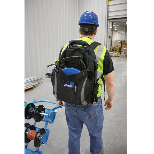 With an abundance of interior and exterior organizational pockets for tools as well as a dedicated space for a laptop and/or tablet. The Ideal Dual Compartment Tool Backpack is a great solution for any tradesperson needing to transport their tools while still having their hands free. SKU: IDE35409 UPC: 783250793457