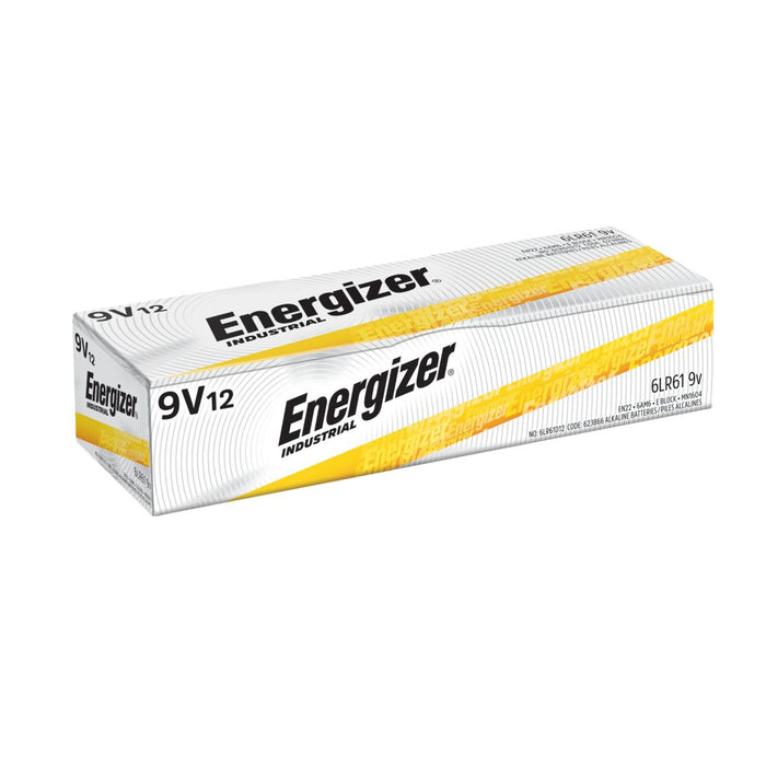 Energizer EN22 industrial batteries are reliable and designed for use in professional devices. These alkaline batteries provide the power needed for high drain devices like hand-held radios and the longevity to the devices like smoke alarms & digital clocks. SKU: EVEEN22 UPC: 039800019127 Product Id: 3530092281961