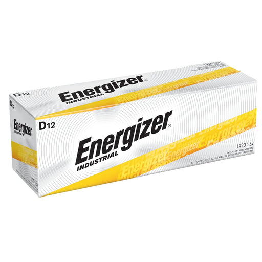 Energizer D batteries are the most durable batteries on the market. SKU# EN95 UPC:10039800019193
