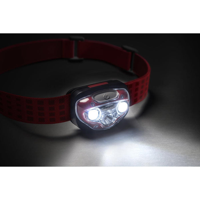 Energizer Industrial Vision HD Headlight is the perfect lighting solution for any activity or job that requires the use of both hands. Its advanced dimming feature allows the user to control the light intensity in Spot & Flood mode. SKU: EVEHDB32E UPC: 039800125170