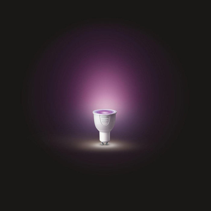 Philips Hue White and Colour GU10 Single Bulb