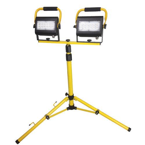 HLS-LED60 Adjustable Compact Work Light for various indoor work spaces like the basement or garage. SKU: RABHLSLED60, RAB089593 UPC: 061184895936