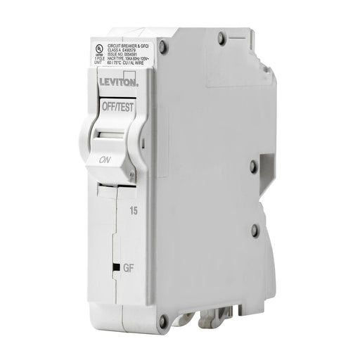 Leviton has channeled their patented technology into the development of GFCI Circuit Breakers; resulting in two industry-leading solutions to help protect against shock and electrocution. UPC: 078477814628
