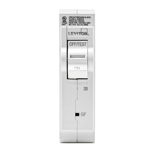 Leviton has channeled their patented technology into the development of GFCI Circuit Breakers; resulting in two industry-leading solutions to help protect against shock and electrocution. SKU# LB120003, LB120-GF  UPC 078477814697