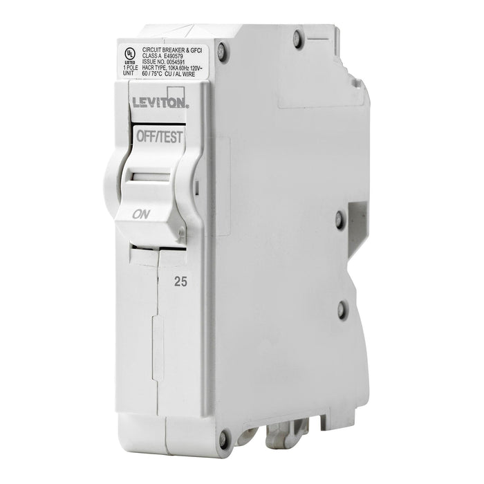 Standard 1-Pole 25A 120V Plug-On Circuit Breaker