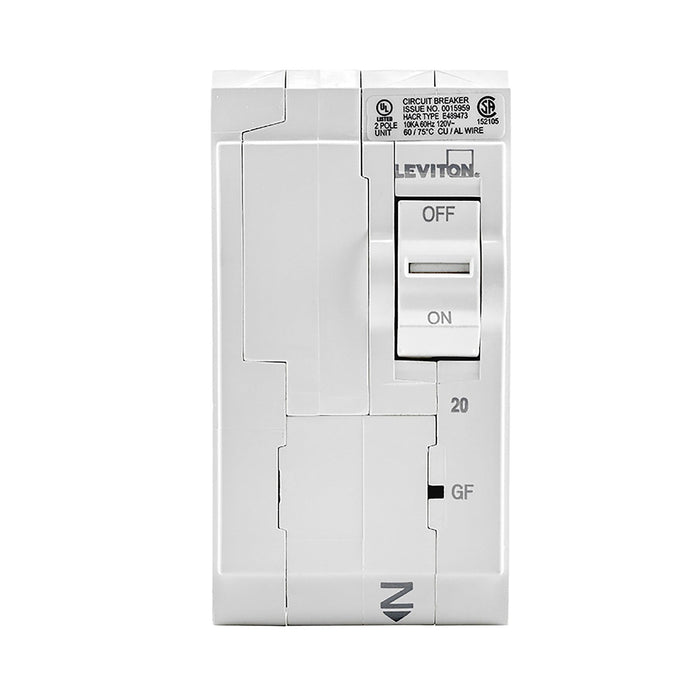 Leviton has channeled their patented technology into the development of GFCI Circuit Breakers; resulting in two industry-leading solutions to help protect against shock and electrocution. Model: LB220-GF UPC 078477814635