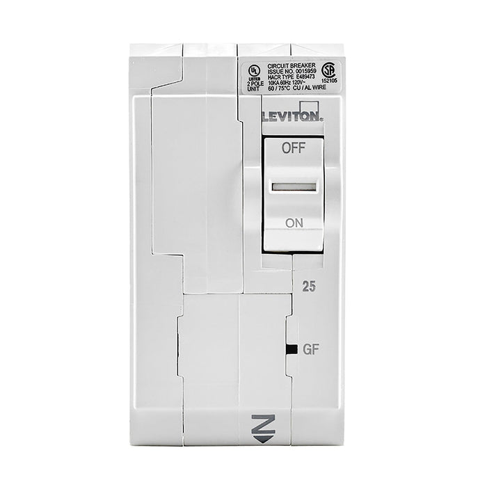 Leviton has channeled their patented technology into the development of GFCI Circuit Breakers; resulting in two industry-leading solutions to help protect against shock and electrocution. SKU# LB225003, LB225-GF UPC 078477814710