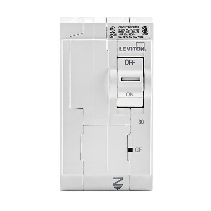 Leviton has channeled their patented technology into the development of GFCI Circuit Breakers; resulting in two industry-leading solutions to help protect against shock and electrocution. Model: LB230-GF UPC 078477814673