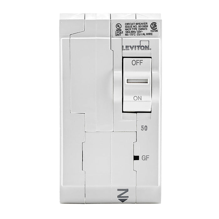 Leviton has channeled their patented technology into the development of GFCI Circuit Breakers; resulting in two industry-leading solutions to help protect against shock and electrocution. Model: LB250-GF UPC 07847781476