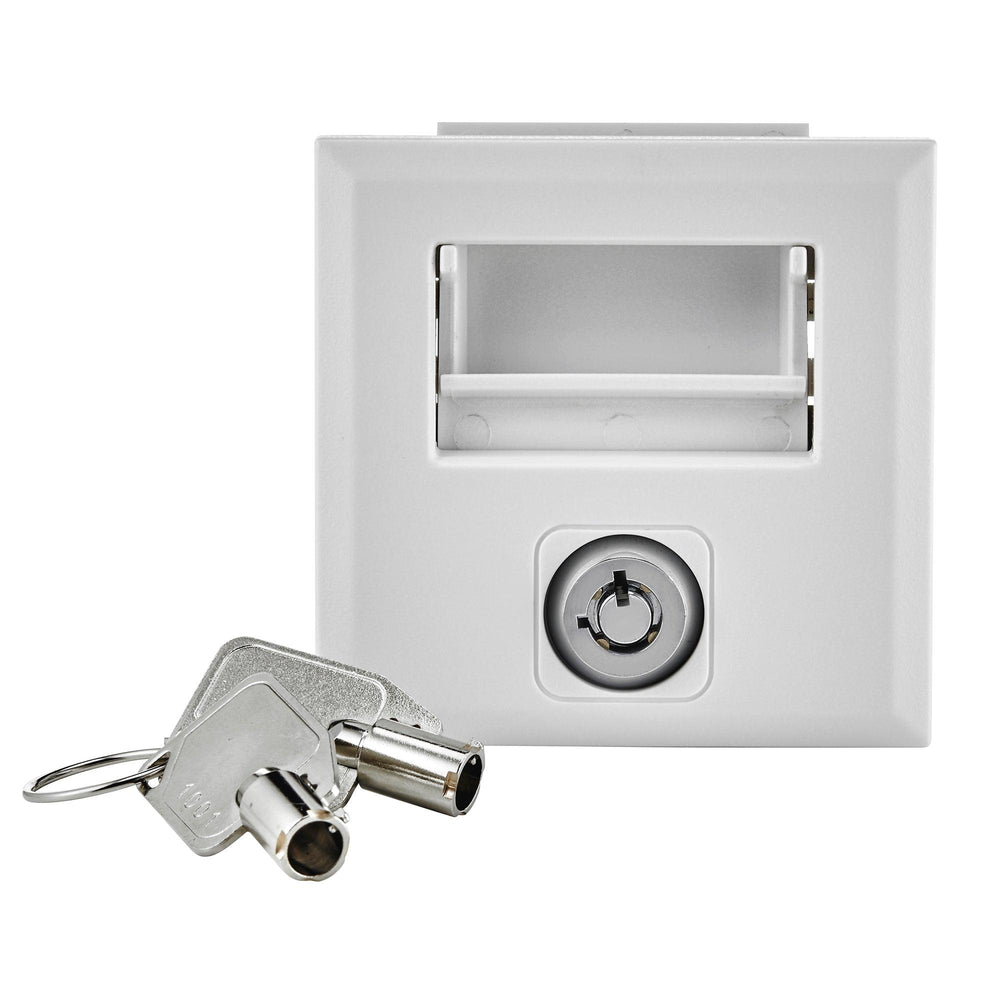 Leviton offers a padlock kit for load center doors to address accessibility, safety, and security concerns. This replacement for the standard door latch is compatible with Leviton's NEMA 1 indoor enclosures and includes two keys. SKU#: LDRLK 078477822852