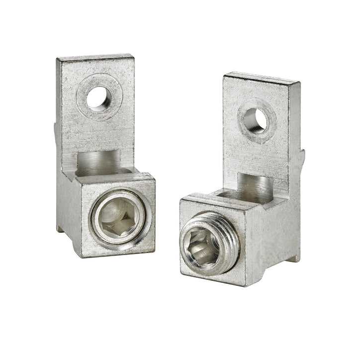 Leviton's Circuit Breaker Main or Feed-Thru Lug Kit, LL630, accommodates wires of size 3 AWG - 300 MCM and is compatible with all Leviton Load Center panels. SKU#: LL630 UPC 078477822418