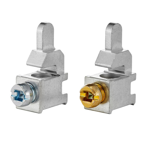 Leviton offers a six pack of their Circuit Breaker Load Side Phase/Neutral Lugs. This kit allows you to replace Leviton's custom load and neutral lugs that may have been stripped or removed during installation. The LLPHN lugs accommodate wires of size 14-4 AWG. Model: LLPHN  UPC 078477822395