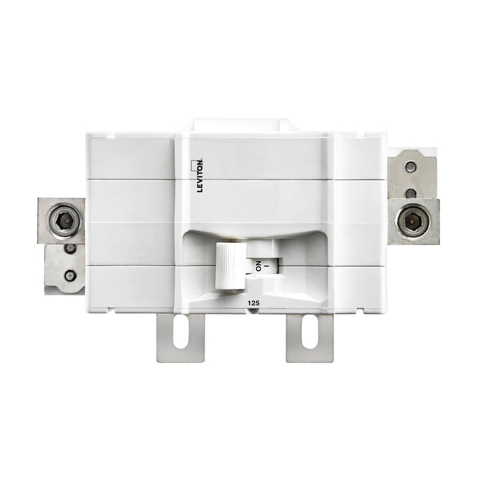 Leviton Main Circuit Breakers provide overload and short-circuit protection and feature an all plug-on design. Model: LM125 UPC: 078477816073